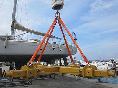 Cast - Bilancini per alaggio imbarcazioni