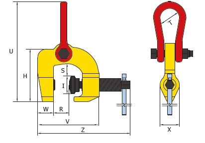 cast - morsetti a vite per sollevamento e movimentazione carichi - TSCC specifiche