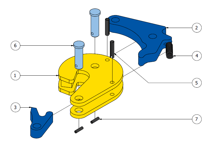 cast-pinze per sollevamento e movimentazione fusti tvk schema