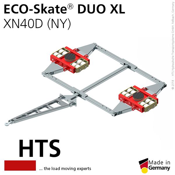 Carrelli da trasporto ECO-Skate DUO XL (ruote nylon)