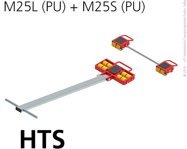 Carrelli di trasporto con altezza di installazione ridotta